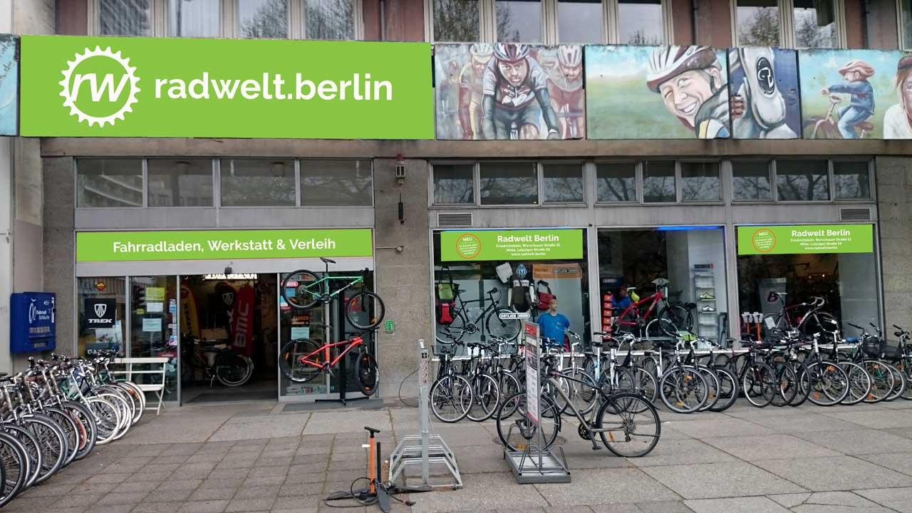 Fahrradwerkstatt Mitte - Radwelt Berlin Mitte