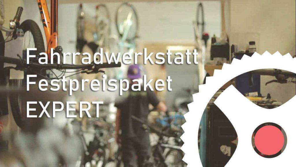 Festpreis Paket Expert - Fahrradwerkstatt Servicepaket